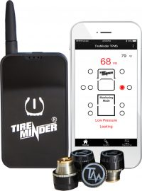 TireMinder® Smart TPMS for RVs, MotorHomes, 5th Wheels, Coaches and Trailers