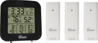 TempMinder® 4-Zone Temperature and Humidity Station